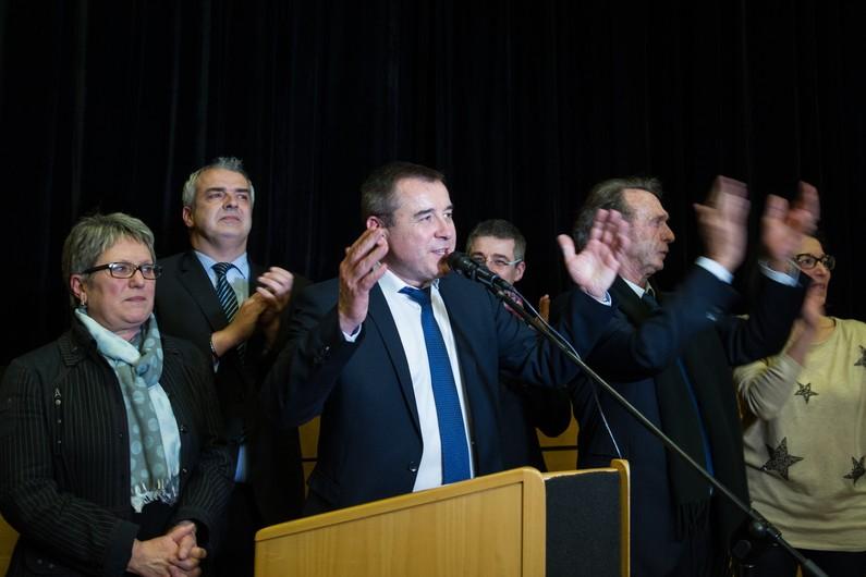 Frédéric Barbier, vainqueur des législatives partielle du 8 février 2015 dans le Doubs, contre le FN.